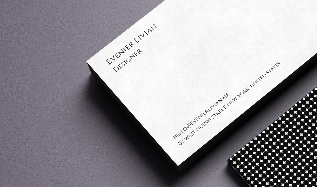 Free Clean Business Card Template