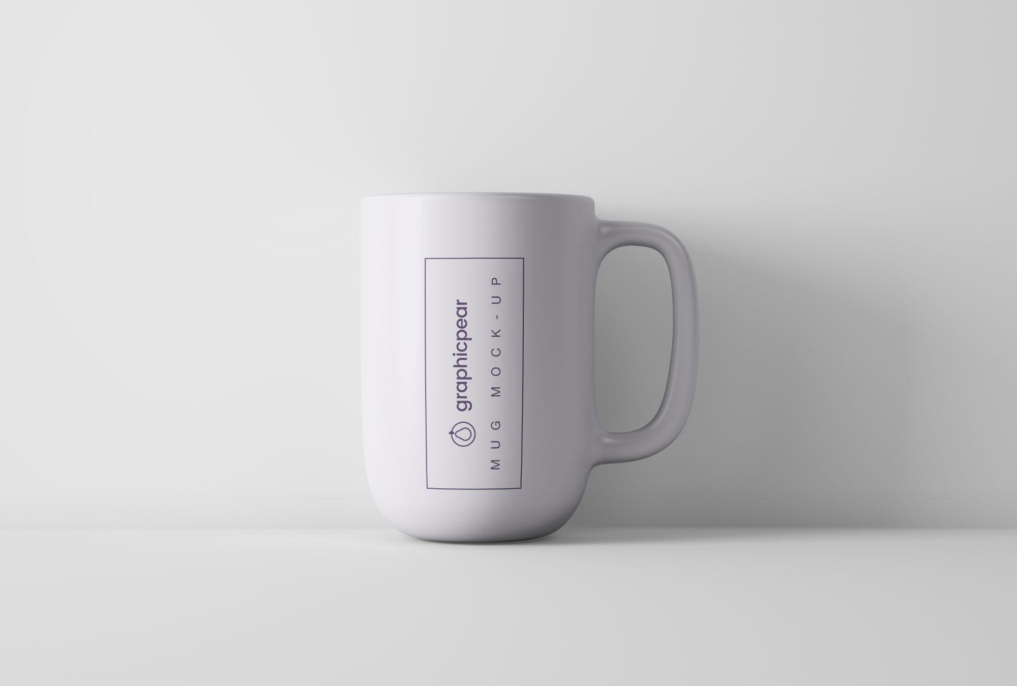 Free Minimal Coffee Mug Mockup