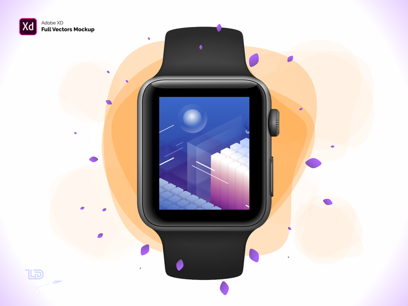 Free Apple Watch S3 42mm Mockup