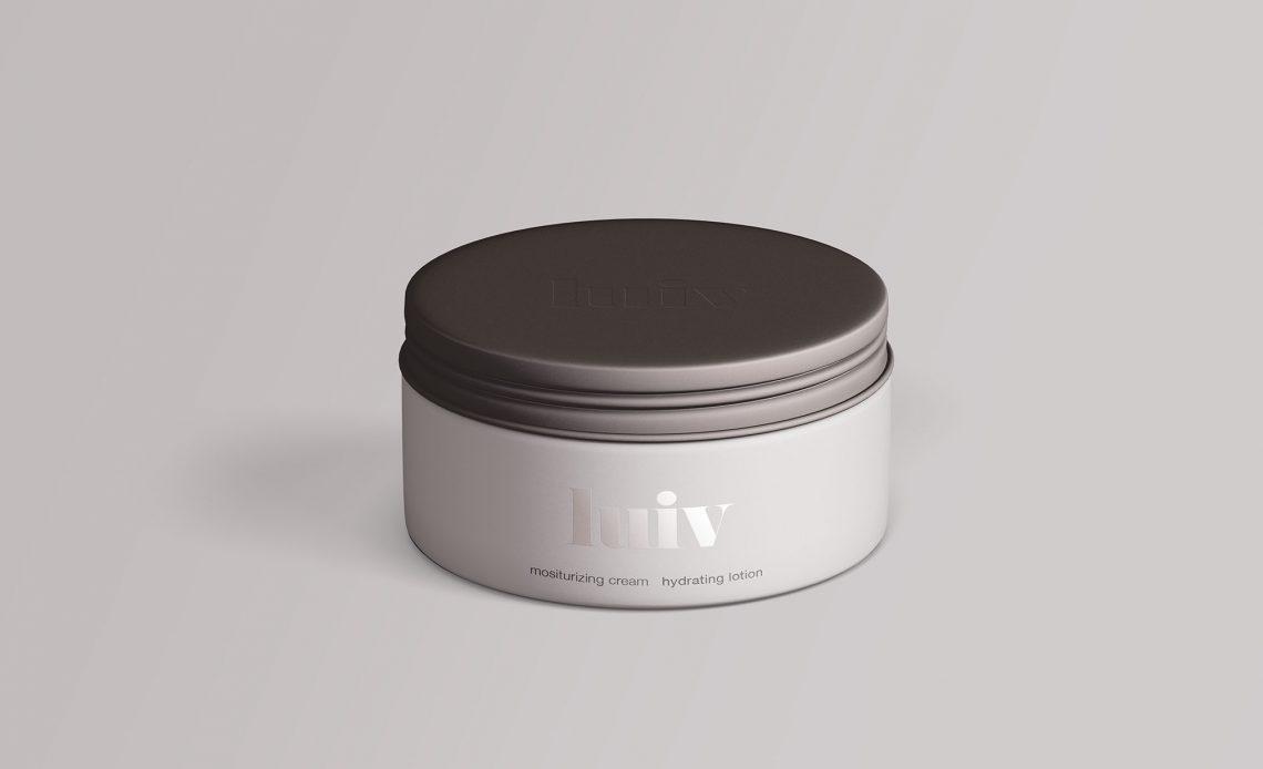 Free Cosmetics Jar Mockup