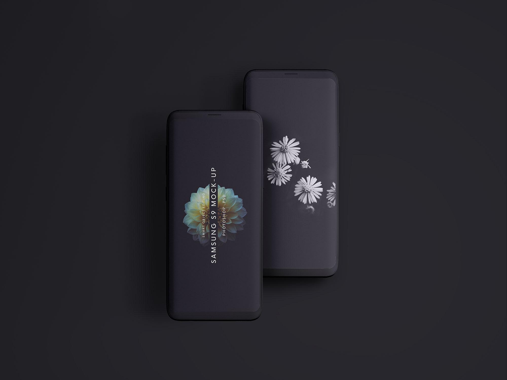 Free Samsung Galaxy S9 Phone Mockup