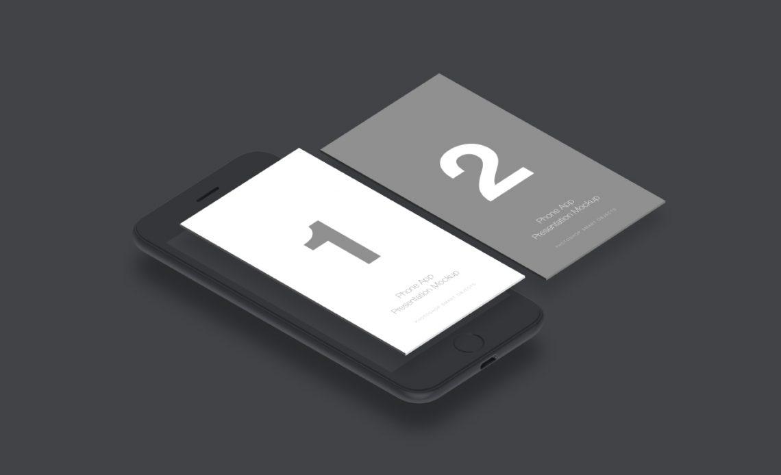 Free Mobile App Mockup