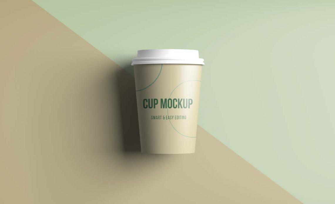 Free Realistic Coffee / Tea Cup Mockup