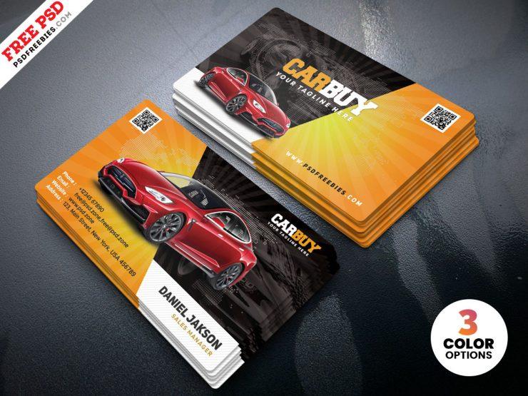 Free Car Dealer Business Card