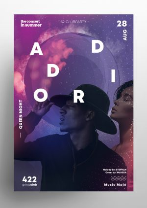 Club Vibe - Artist PSD Flyer Template