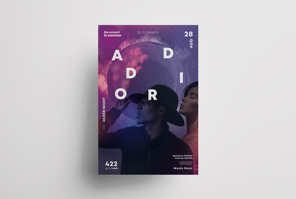Club Vibe - Artist PSD Flyer