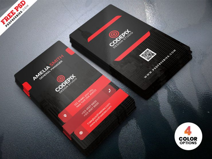 free Premium Corporate Business Card