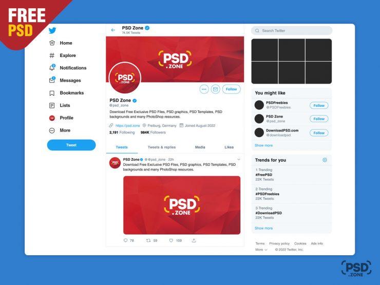 Free New Twitter Post Mockup 2019