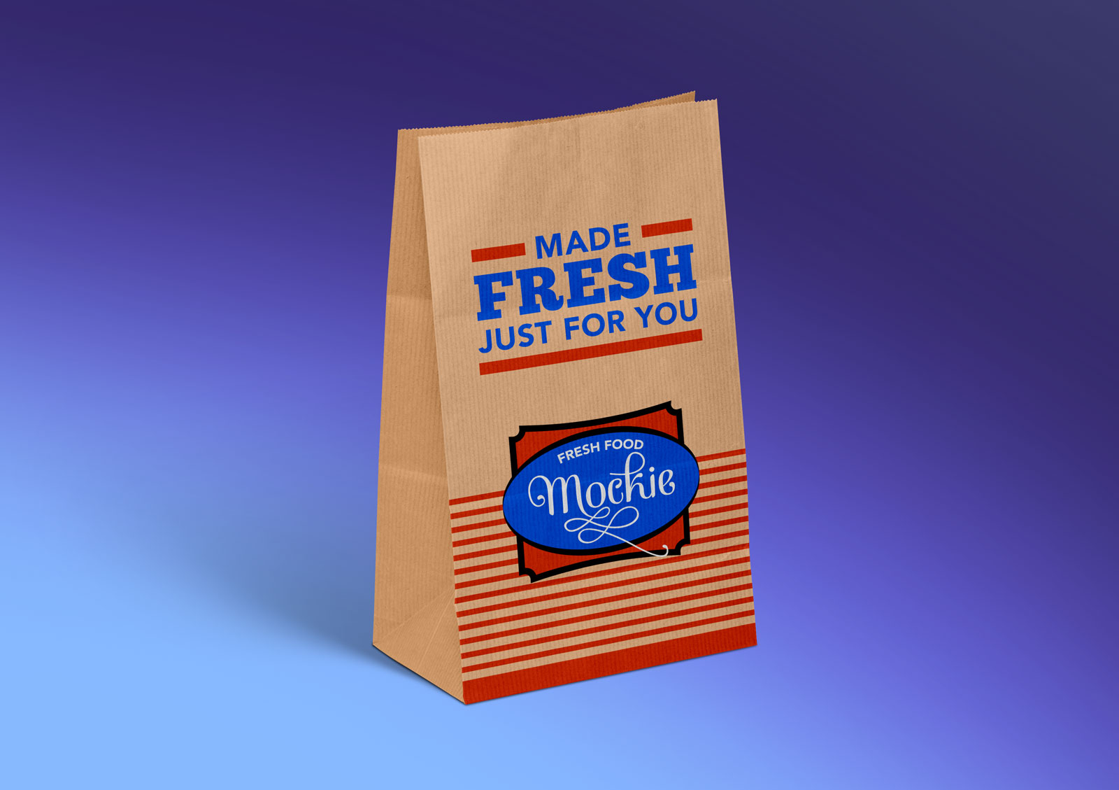 Free Food Packaging Mockup