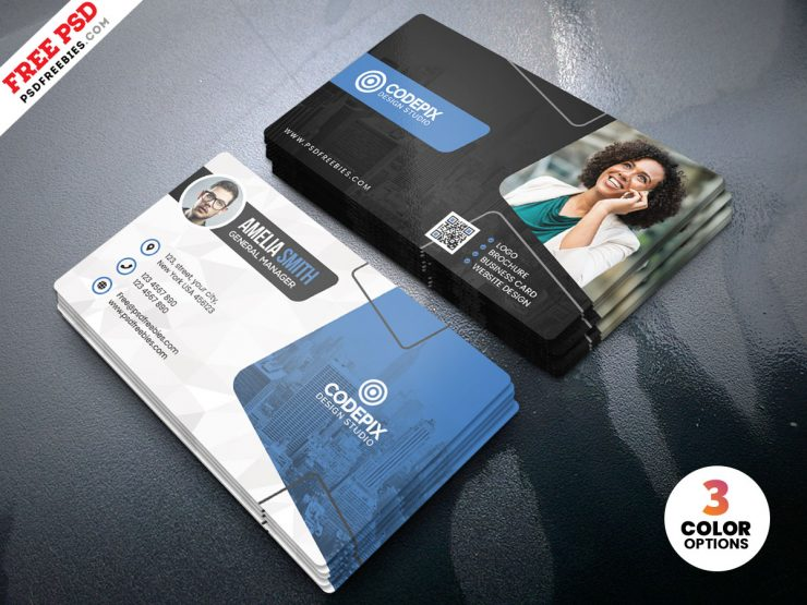 Free Modern Business Card Design