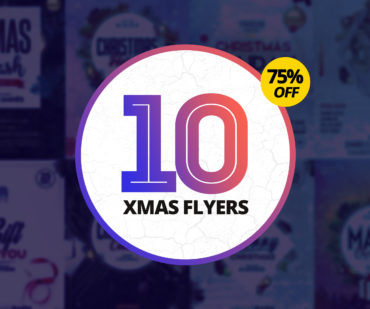 75% OFF: 10 Christmas PSD Flyers
