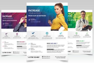 Business PSD Flyer Template vol.2