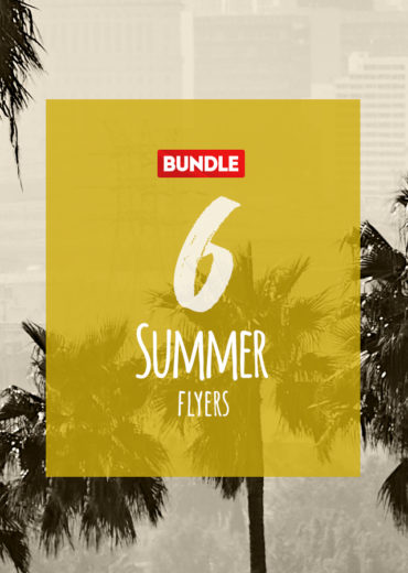 6 Summer PSD Flyers