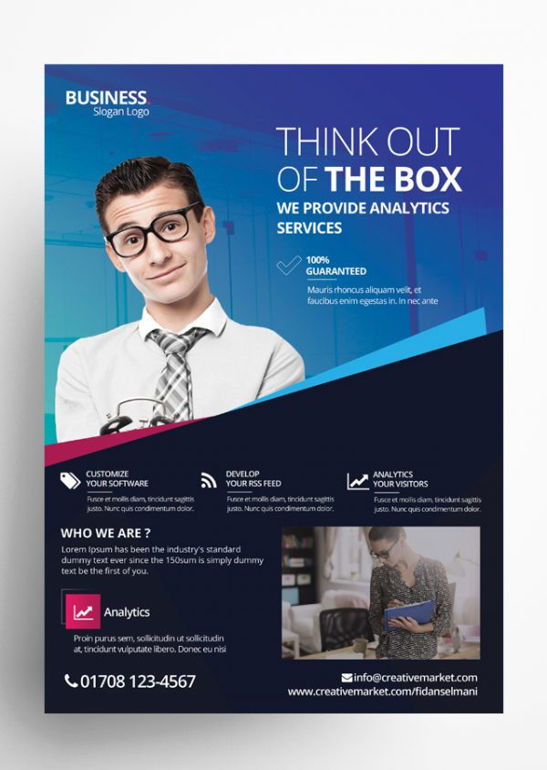 Creative Business PSD Flyer Template