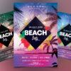Beach Party - Summer PSD Flyer