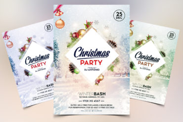 Christmas Party Vol.2 PSD Flyer