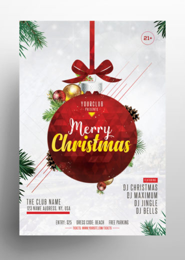 Merry Christmas Vol.2 PSD Flyer Template