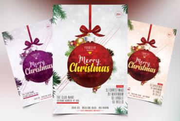 Merry Christmas Vol.2 PSD Flyer Template