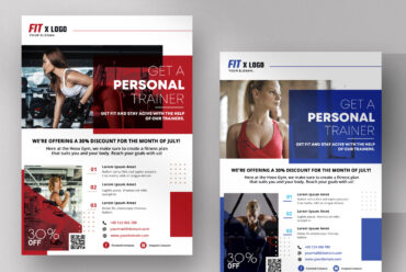 Personal Trainer - Fitness Flyer Template