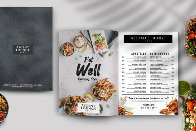Restaurant Menu PSD Template Vol2