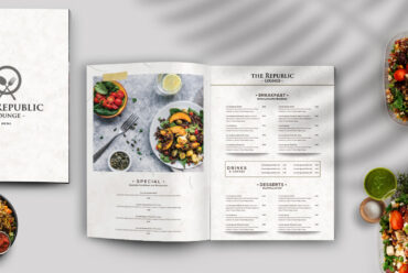 Restaurant Menu PSD Template Vol3