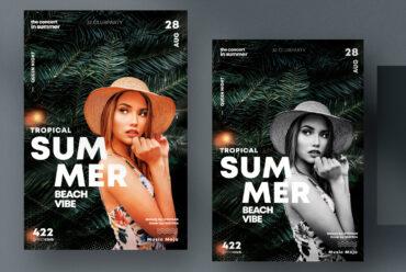 Summer Event - Clean PSD Flyer Template