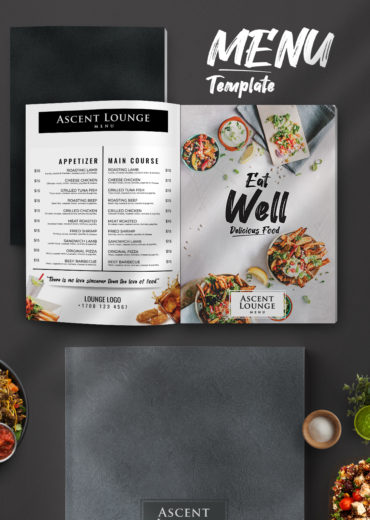 Restaurant Menu PSD Template Vol2