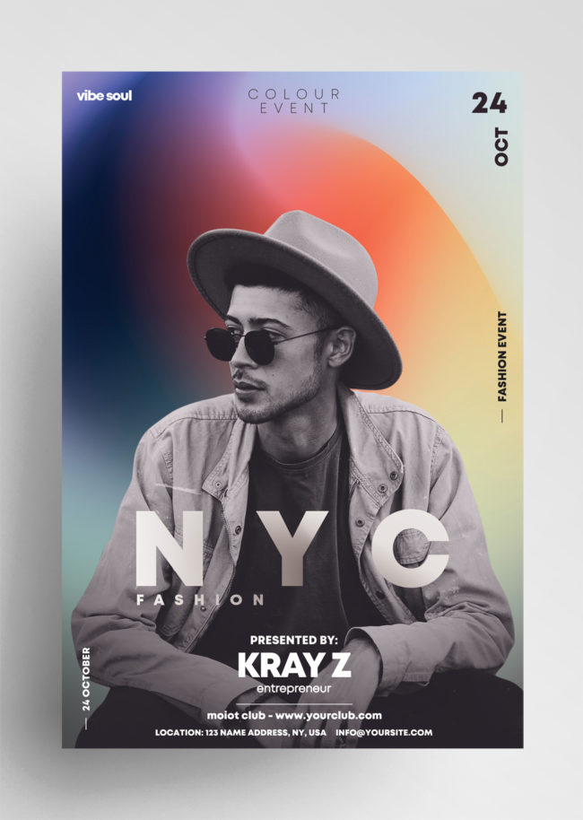 NYC Fashion PSD Flyer Template