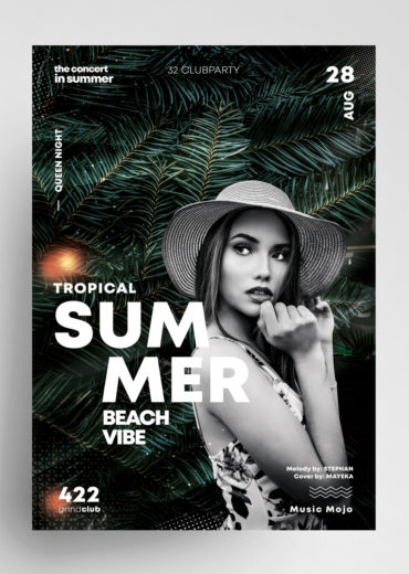 Summer Event - Clean PSD Flyer Template