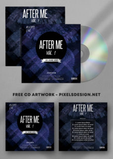 After Me - Freebie PSD Mixtape Album Artwork Cover