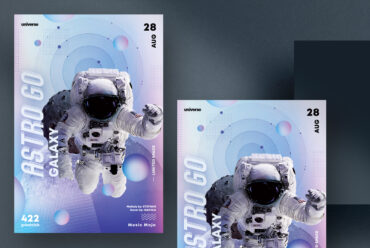 Astro GO - Event Flyer Template (PSD)