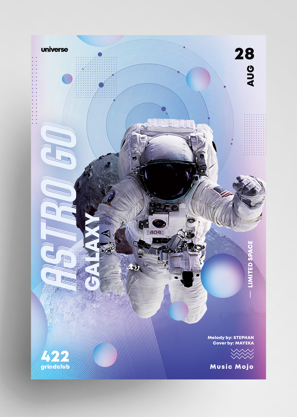Astro GO - Event Flyer Template (PSD)