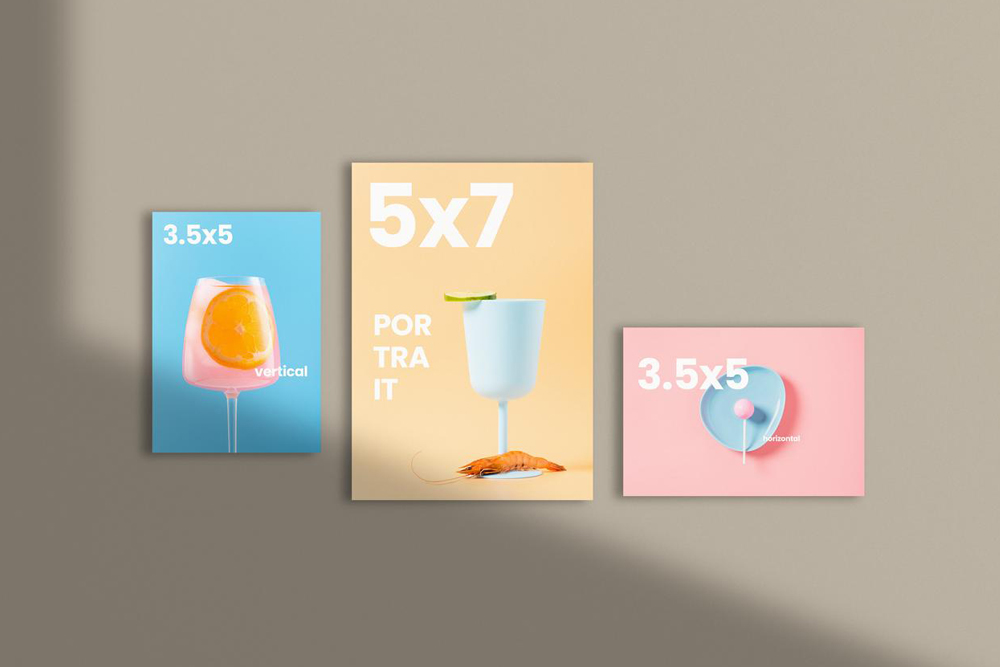 Free Flyers & Cards Mockup