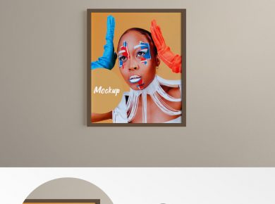 Free Poster Frame vol1 Mockup