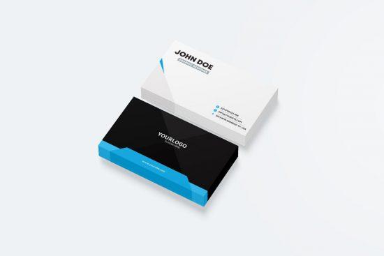 Free Business Card Mockup vol2