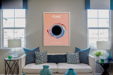 Interior Poster Frame Free Mockup