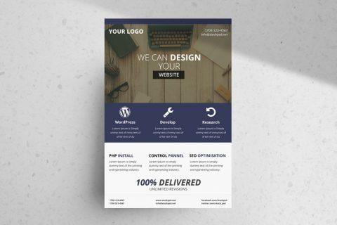 Business Flyer 05 – Freebie PSD Template