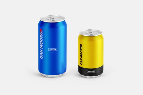 Free 2 Can Mockups