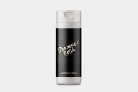 Shampoo Bottle Free Mockup