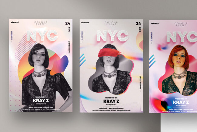 NYC Event PSD Flyer Template