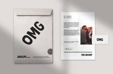 Paper Branding Free Mockup