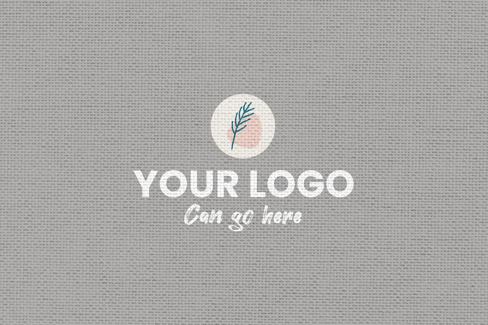 Fabric Textile Logo Free Mockup