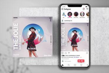 Fashion Event Instagram PSD Templates
